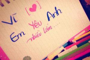 Em yêu anh, là em nói thật