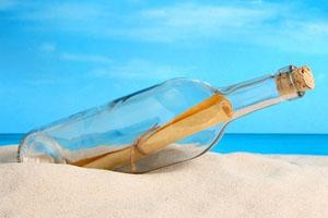 Người rót biển vào chai