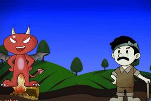 Bác nông dân thông minh và con quỷ nhỏ tham lam