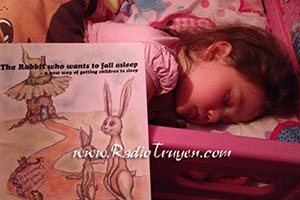 Chú Thỏ muốn đi ngủ
